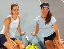 JO 2020: victorie mare pentru dublul Monica Niculescu - Raluca Olaru. Tenismenele noastre au facut surpriza in turneul de tenis