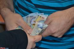 Jaf la o casa de schimb valutar din Maramures: Hotii au fugit cu zeci de mii de euro
