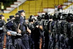 Jandarmeria: masuri de ordine publica la meciul de fotbal A.F.C. Astra Giurgiu - C.S.M. Politehnica Iasi