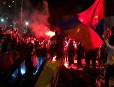 Jandarmeria a stricat petrecerea Stelei din Piata Universitatii