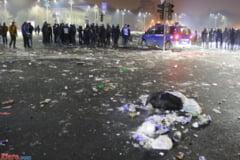 Jandarmeria cere publicului inregistrari si fotografii cu huliganii de azi-noapte din Bucuresti
