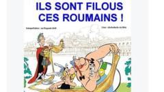 Jandarmeria franceza, parodie pe Facebook: Sunt niste gainari romanii astia
