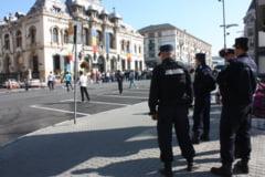Jandarmii asigura ordinea la manifestarile din week-end