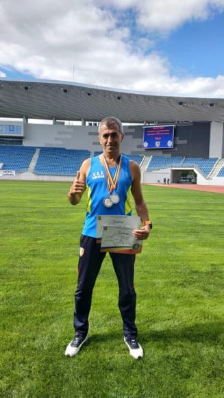 Jandarmul tulcean Sorin Andrici, pe podium in cadrul Campionatului de Atletism si Cros al Ministerului Afacerilor Interne