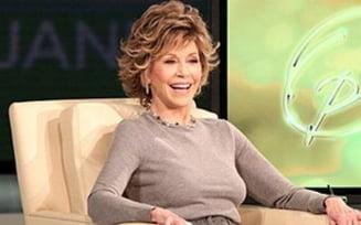 "Jane Fonda: ""Oamenii generosi au mai multe orgasme"""