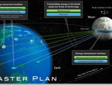 Japonezii vor sa transforme Luna intr-o uriasa statie solara