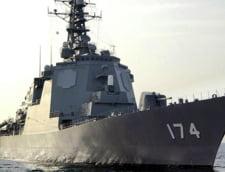 Japonia si-a trimis un distrugator sa doboare rachetele lansate din Coreea de Nord
