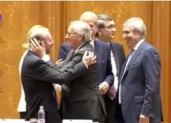 Jean Claude Juncker a fost primit de Grindeanu la Guvern in scandarile unor protestatari