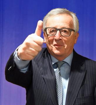 Jean Claude Junker, dupa ce s-a taiat la barbierit: Nu o acuzati pe Theresa May!