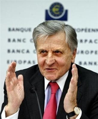 Jean-Claude Trichet a felicitat conducerea BNR pentru politica monetara