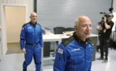 Jeff Bezos, cel mai bogat om din lume, pleacă astăzi în spațiu. Călătoria va fi transmisă live VIDEO