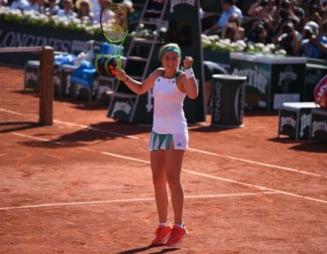 Jelena Ostapenko, despre finala cu Simona Halep de la Roland Garros