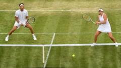 Jelena Ostapenko pierde finala de dublu mixt de la Wimbledon