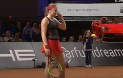 Jelena Ostapenko risca o amenda drastica dupa un incident petrecut la Stuttgart - ce i-a strigat unui arbitru