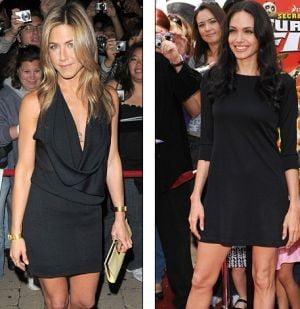 Jennifer Aniston sare la gatul Angelinei Jolie