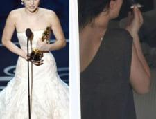 Jennifer Lawrence, de la Oscar la tigara suspecta