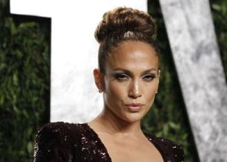 Jennifer Lopez, gest socant intr-un avion