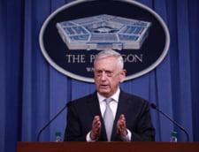 Jim Mattis: SUA nu se vor retrage din Siria pana cand nu va fi instaurata pacea