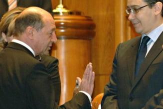 Joaca de-a baba-oarba dintre Ponta si Basescu o platim noi (Opinii)