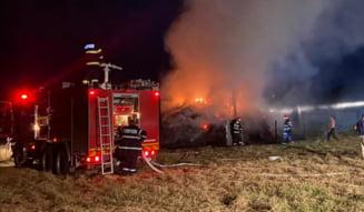 Jocul copiilor cu focul a provocat un incendiu la Milcoveni