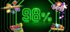 Jocuri noi in oferta Unibet cu RTP 98%