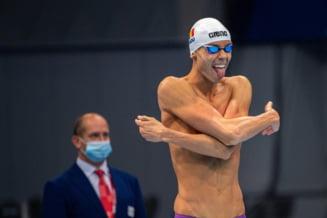 Jocurile Olimpice: David Popovici a ratat calificarea în semifinale la 50 de metri liber