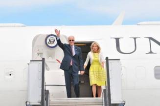 Joe Biden, plimbare cu sotia prin Centrul Vechi
