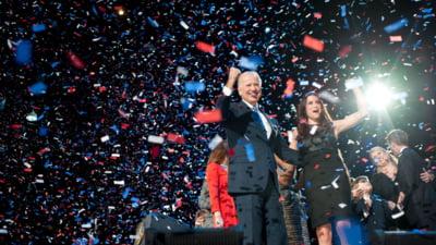 "Joe Biden se declara onorat ca americanii l-au ales sa conduca tara: ""Ne asteapta o munca grea"""