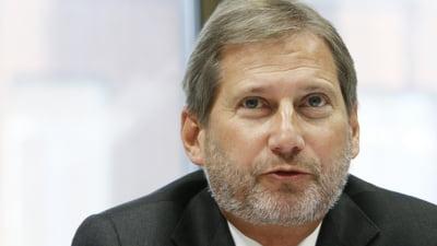 Johannes Hahn: Bucurestiul are multe oportunitati de atragere a fondurilor structurale