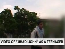 John jihadistul, intr-un clip inedit ca adolescent vesel si rusinos in curtea scolii, la Londra