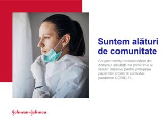 Johnson & Johnson doneaza 650.000 de lei pentru lupta cu pandemia, dar si pentru protectia pacientilor cronici