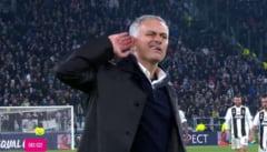 """Jose Mourinho, gesturi sfidatoare dupa victoria cu Juventus: """"Cat sa mai suport?"""""""