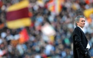 Jose Mourinho, primit la Roma ca un superstar VIDEO