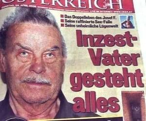 Josef Fritzl si-a violat fiica de peste 3.000 de ori