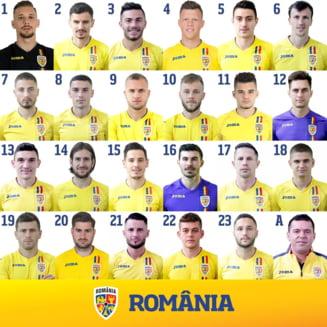 Jucatorii nationalei Romaniei si-au ales numerele pentru meciul cu Spania: Avem un nou numar 1!
