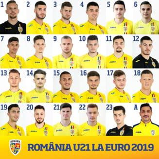 """Jucatorii nationalei de tineret si-au ales numerele pentru Euro 2019: Hagi este """"decarul"""" Romaniei"""