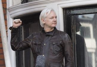 Julian Assange a fost arestat la Londra. Scotland Yard are de gand sa-l extradeze in SUA (Video)