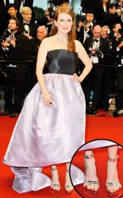 Julianne Moore, prezenta jenanta pe covorul rosu de la Cannes
