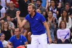 Julien Benneteau, despre strategia aplicata in cea de-a doua zi a semifinalei dintre Franta si Romania: Cum a obosit-o pe Simona Halep