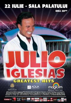 Julio Iglesias, in iulie si la Bucuresti