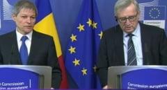 Juncker: In mandatul meu, vom pune capat MCV pentru Romania. Ce spune Ciolos
