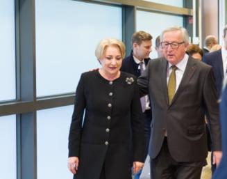 Juncker i-a raspuns lui Dancila la scrisoarea in care acuza Comisia Europeana de ingerinte in justitia din Romania