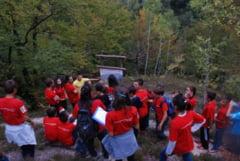 Junior rangeri in Parcul Natural Gradistea Muncelului Cioclovina