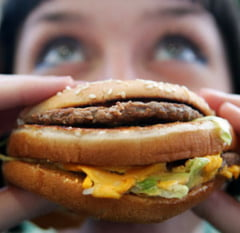 Junk food-ul imbatraneste creierul, afectand judecata