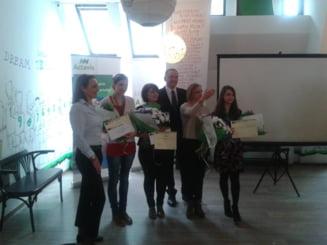 "Jurnalista Ziare.com Diana Robu a castigat marele premiu la concursul ""Sustinem performanta"""