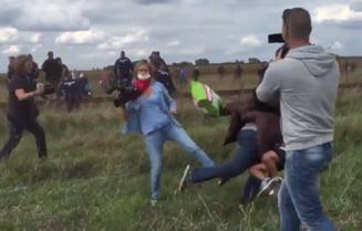 Jurnalista care a lovit imigranti va fi anchetata penal (Video)