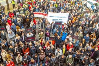 Jurnalistii din Croatia au iesit in strada din cauza cenzurii: 1.100 procese sunt pe rol impotriva presei croate