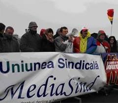 Jurnalistii participa la protestele de miercuri