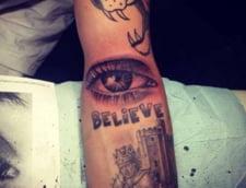 Justin Bieber, cu un nou tatuaj care-ti da fiori