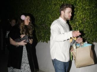 Justin Timberlake si Jessica Biel au devenit parintii unui baietel